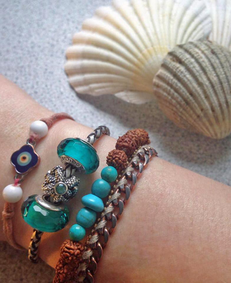 Pandora beads, mala beads