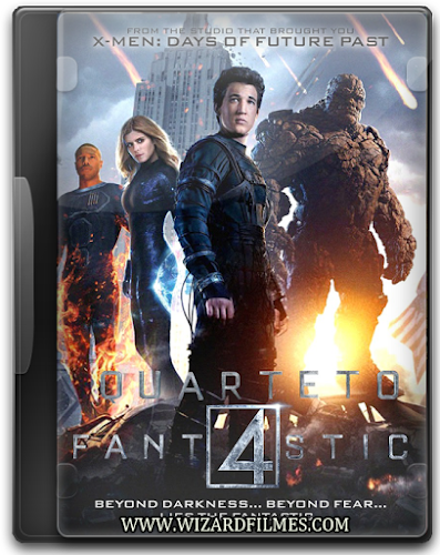 Quarteto Fantástico Torrent BDRip Dual Áudio (2015)
