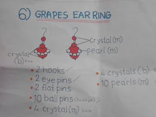 - grapes ear ring -
