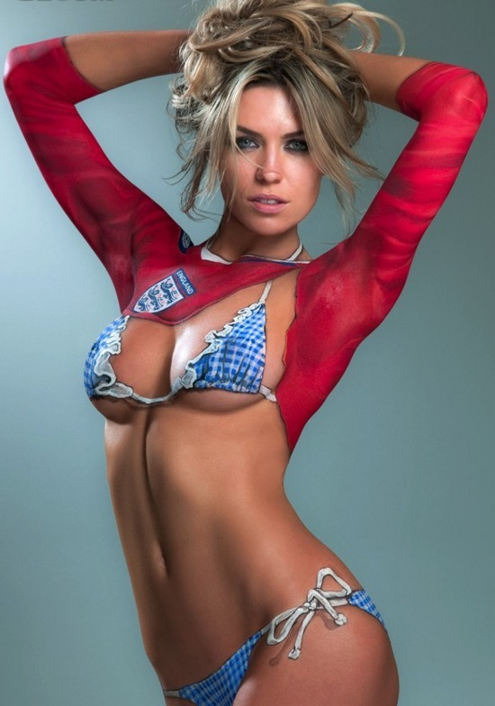 Sexy women with body paint body painting and tattoo alas for Best body paint pics