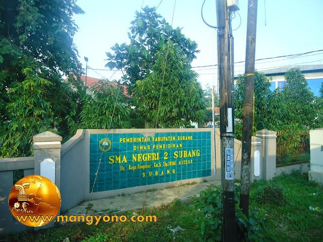 SMA Negeri 2 Subang ( SMANDA ), Jl. Raya Dangdeur Km.5 Subang