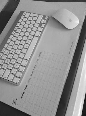 skrivbord, blogghörna, Villa Humlebo,