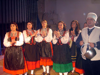 "Grupo Folklórico ""Pastores de Parrillas"". Parrillas. Toledo."