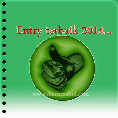 Segmen Ini Entri Terbaik 2014 , blog terbaik 2014