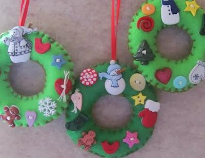 Mille idee casa decorazioni natalizie in feltro for Mille idee per la casa