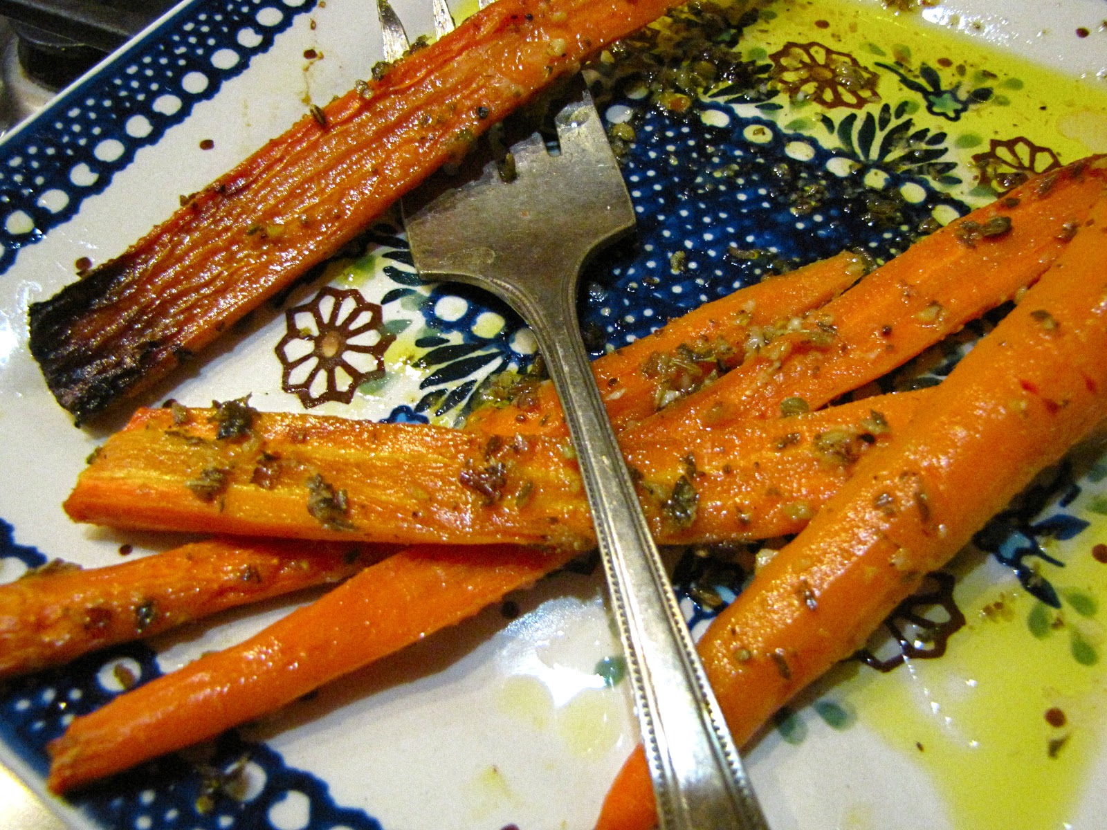 Spiced Roasted Carrots with Citrus