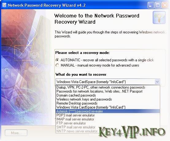 Network Password Recovery Wizard 5.8.3.678 Full,Phần mềm khôi phục mật khẩu hệ thống mạng Windows