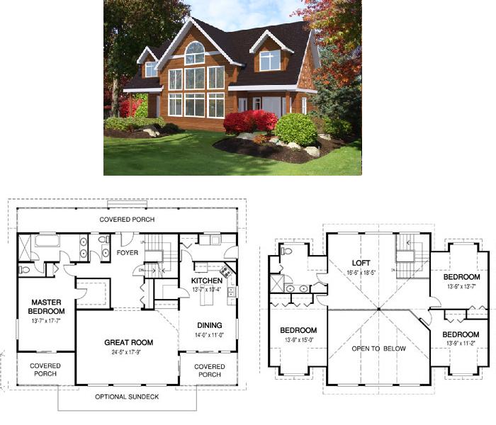 Modelos de casas de campo | ARQUITECTURA de CASAS