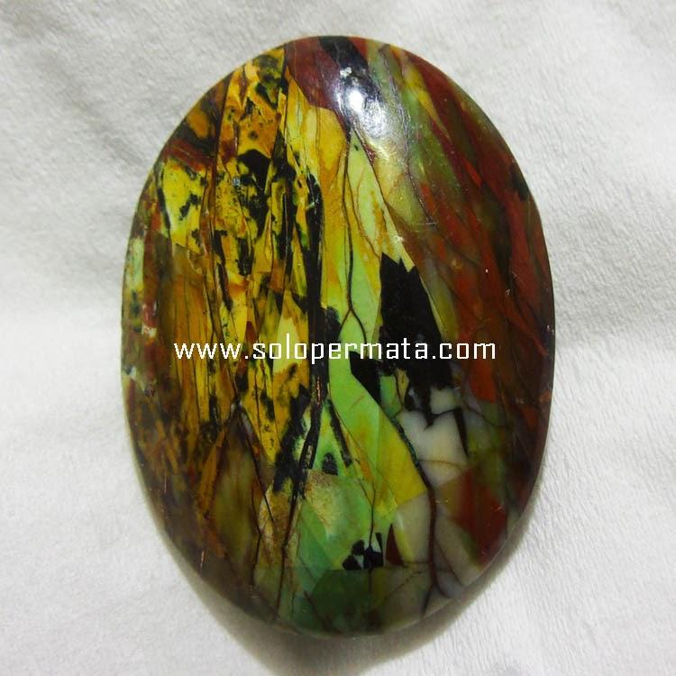 Batu Permata Bacan Pancawarna - 03k10