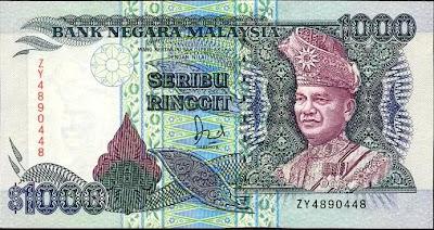 Pernahkah anda pegang duit ini? Apa gambar sebelah belakangnya?