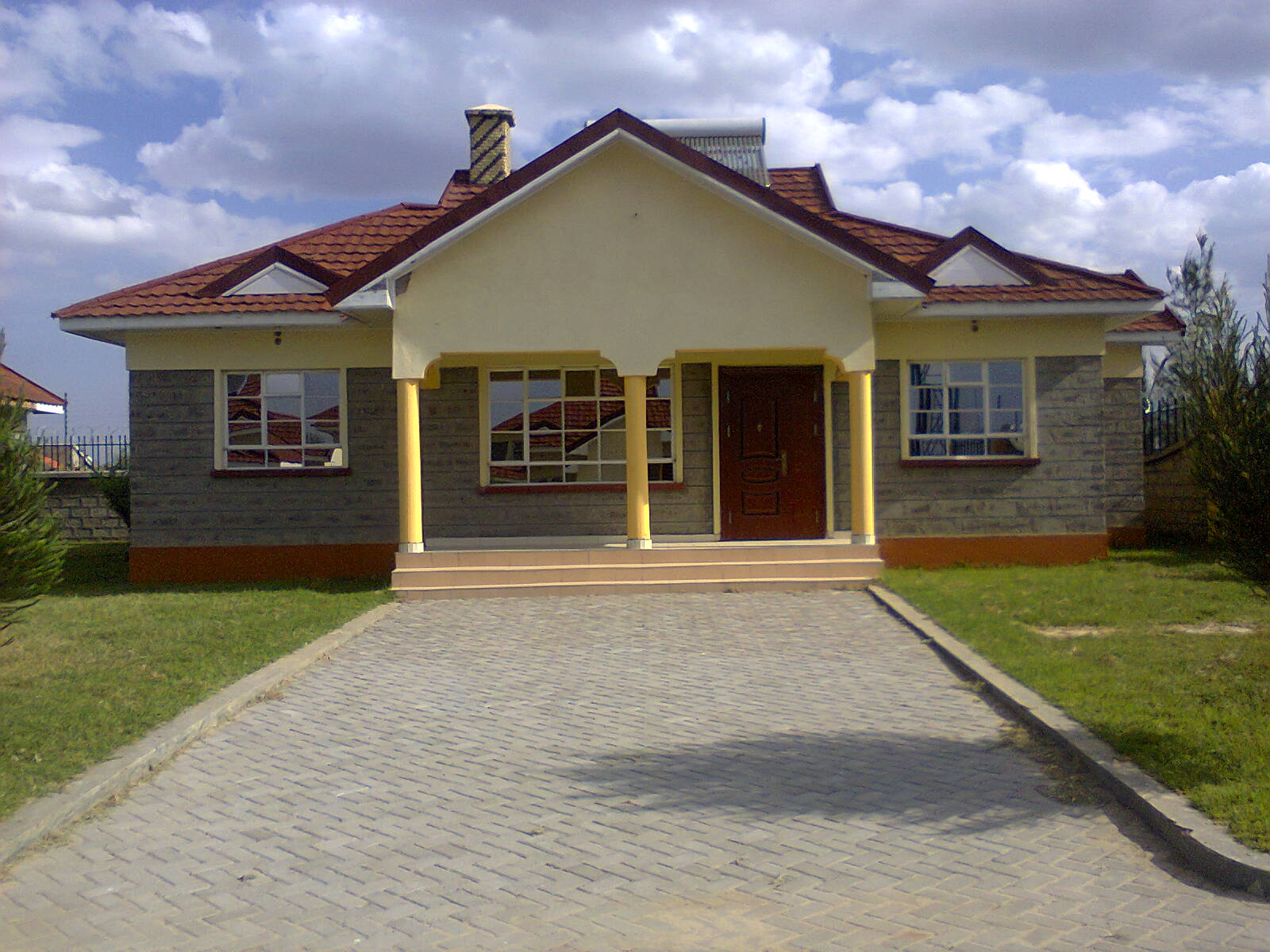 Pictures of bungalow houses in kenya for House plans with pictures in kenya