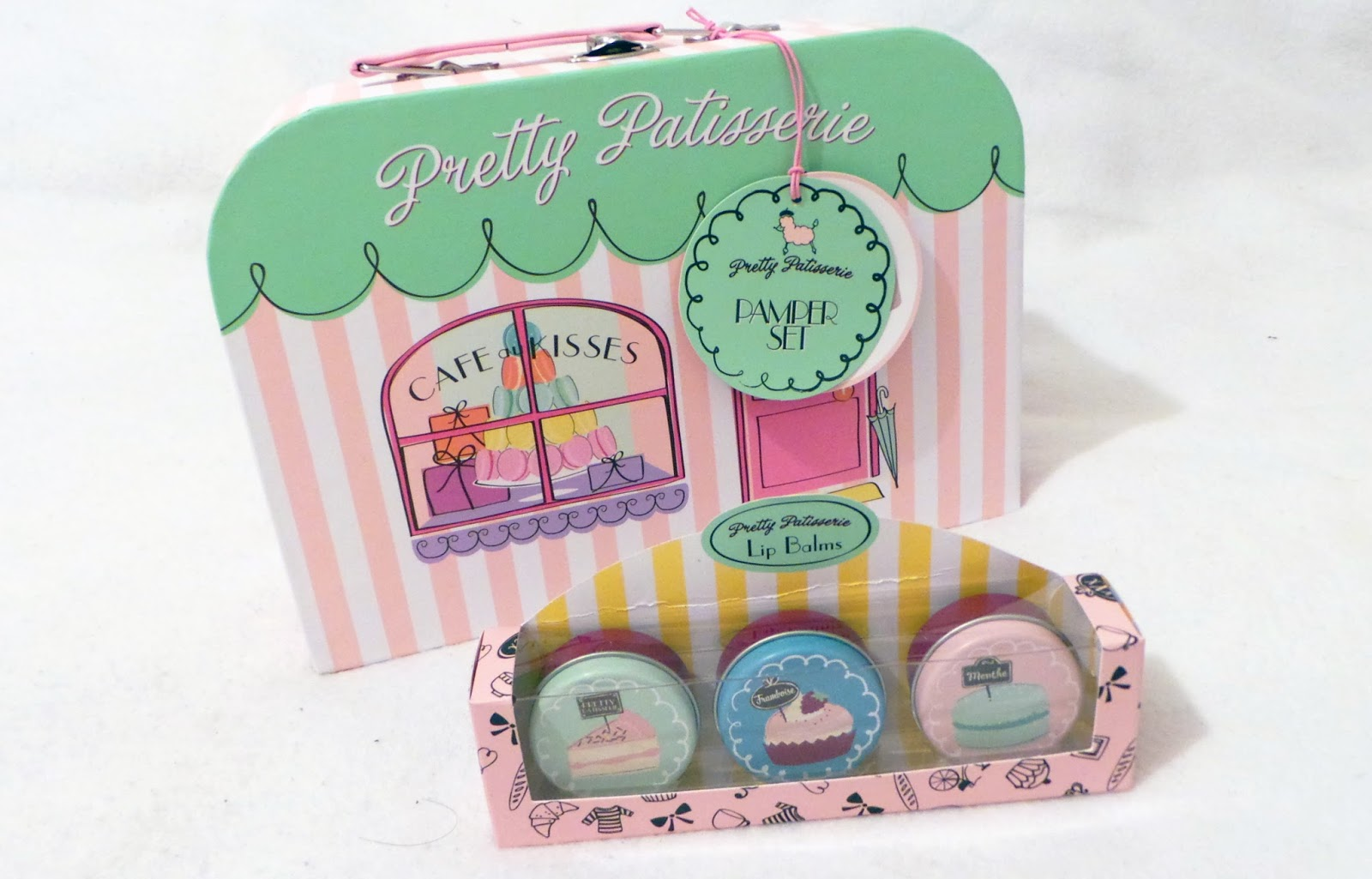 birthday haul blog post - Pretty Patisserie Pamper Set & Lip Balm Boots