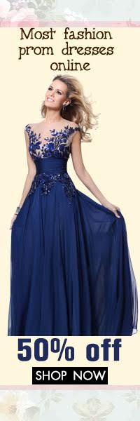 Discount to 50%OFF of new Prom Dresses from MissyDress UK