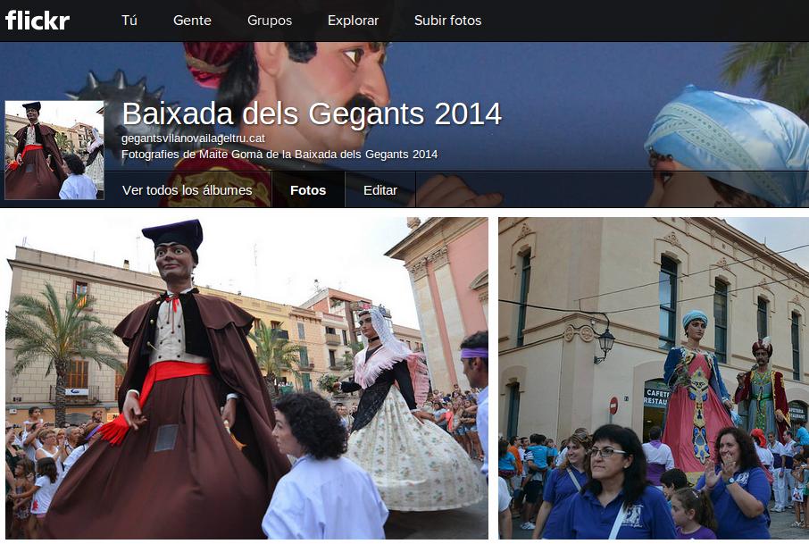 otografies de Maite Gomà de la Baixada dels Gegants 2014