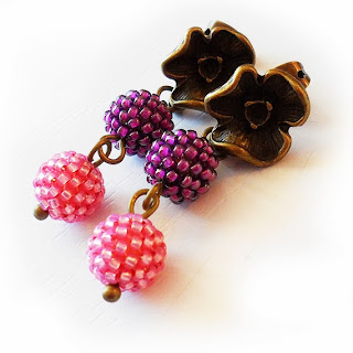 https://www.etsy.com/listing/166282783/flower-stud-earrings-pink-and-purple