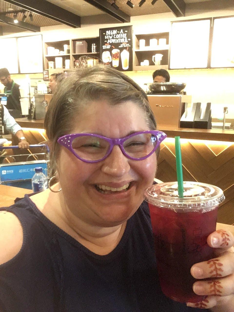 Starbucks, Singapore Airport, Passion Iced Tea, 2019