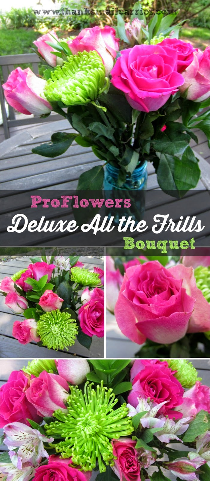 ProFlowers deluxe bouquet