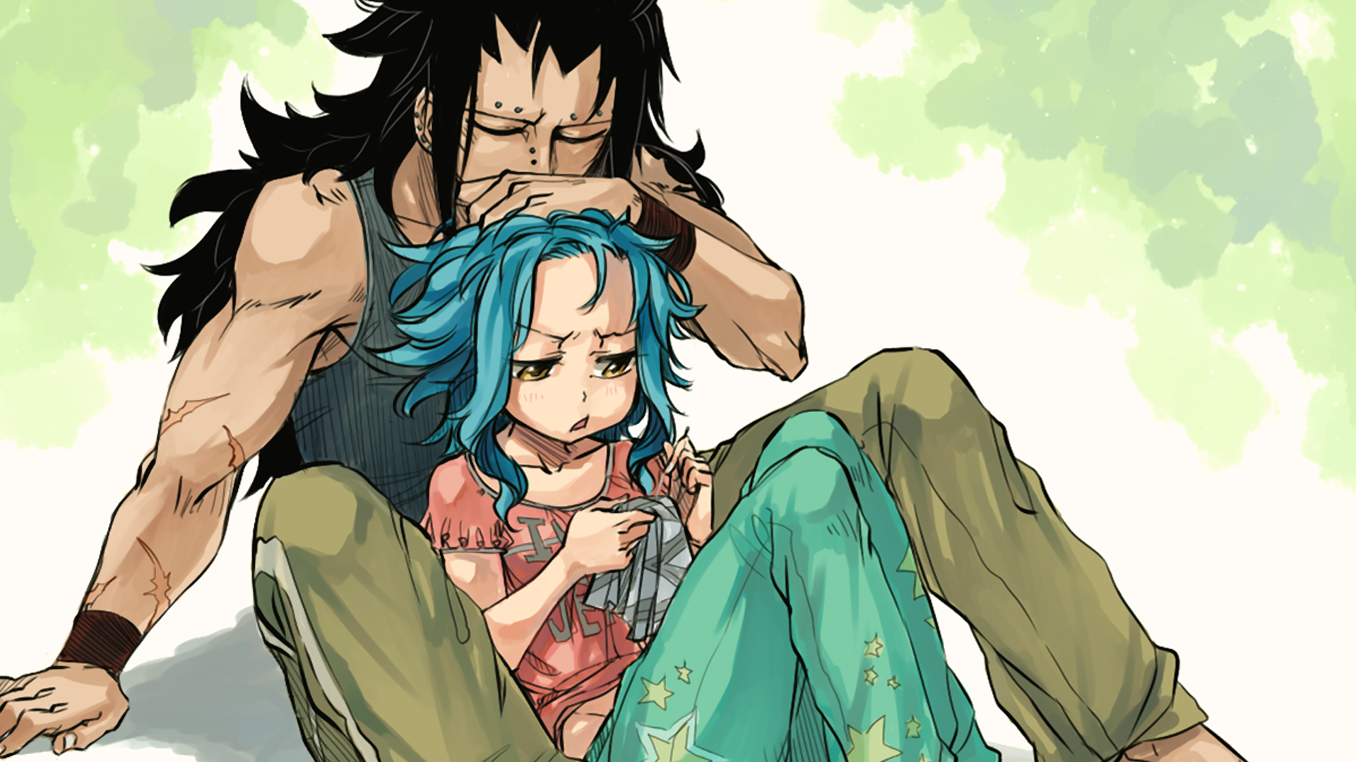 Gajeel and Levy Wallpaper HD