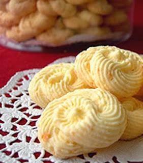 Resep Kue Semprit Keju