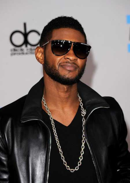 usher coupe coiffure cheveux