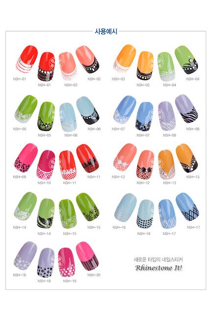 Nail polish, nail decoration product, Jewel stone sticker, Decoration sticker