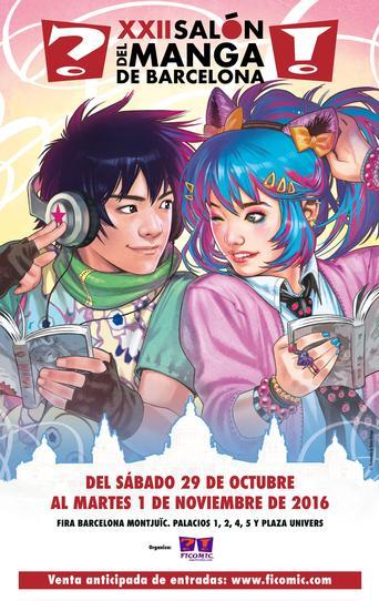 Asistiremos a XXII Salón del Manga de Barcelona