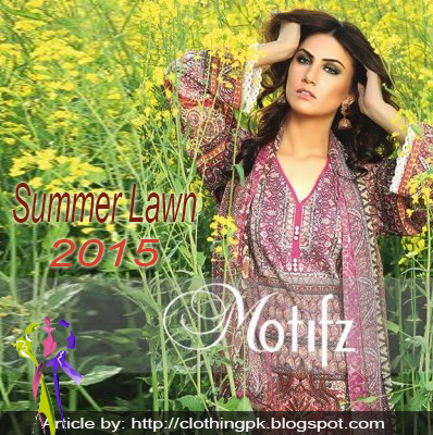 Motifz Digital prints Summer Lawn Collection 2015 for Girls