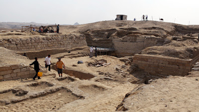 Ramses II vizier's pyramid discovered in Luxor