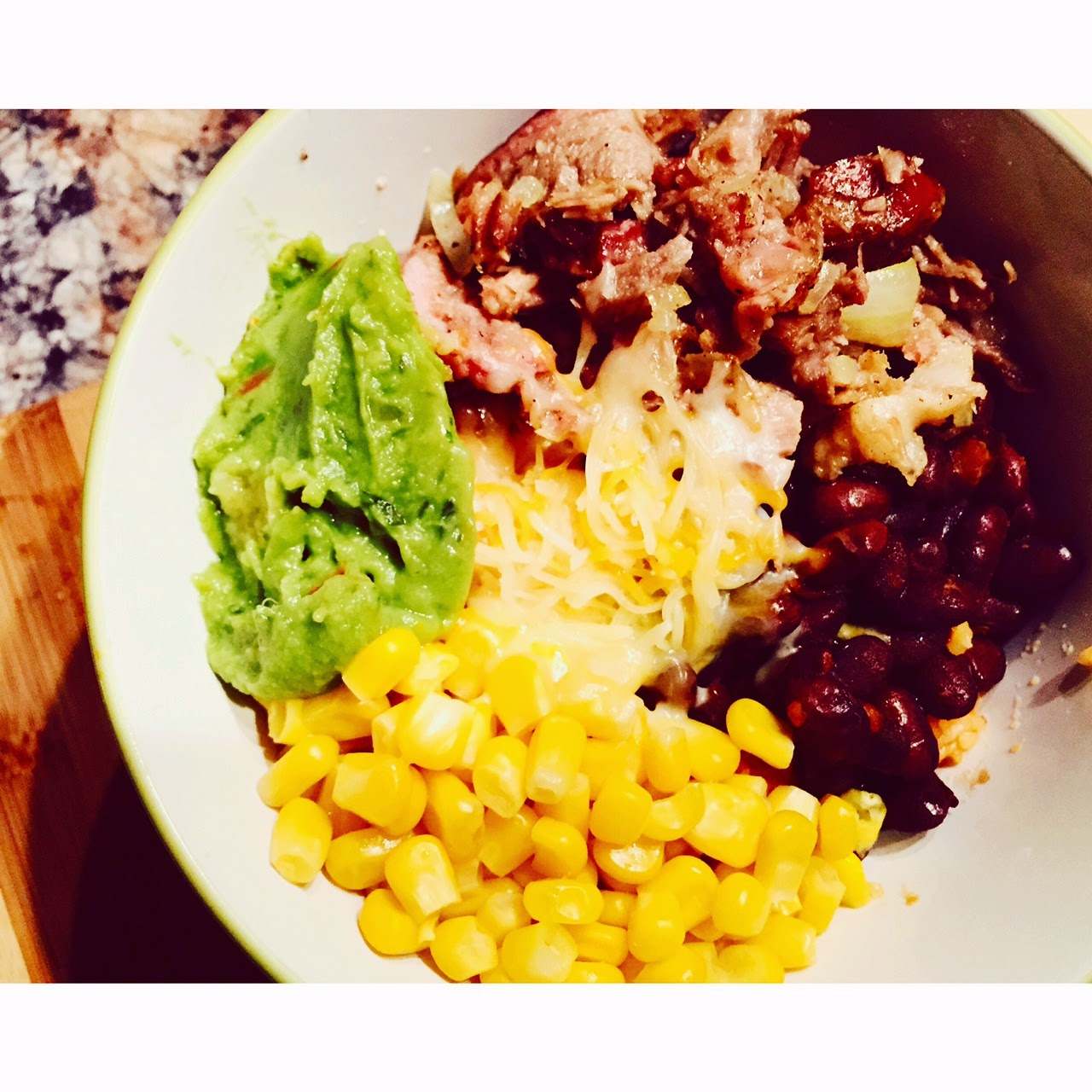 Fiesta Bowl with Mexican Rice