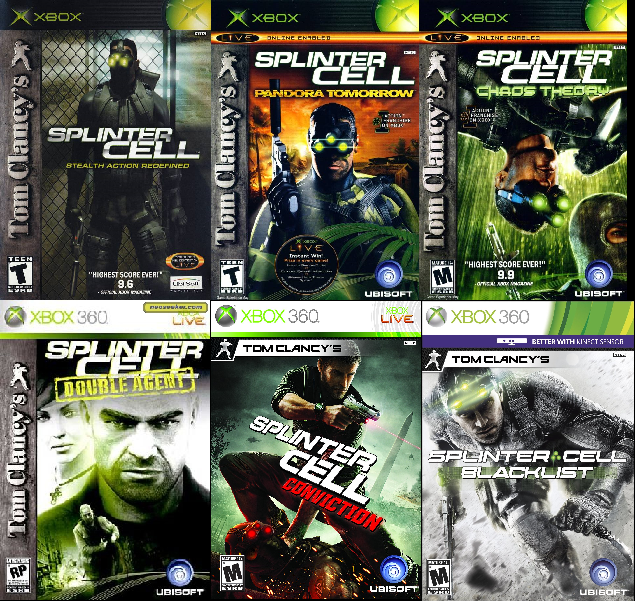 Arnold S Benediction Ranking The Splinter Cell Games