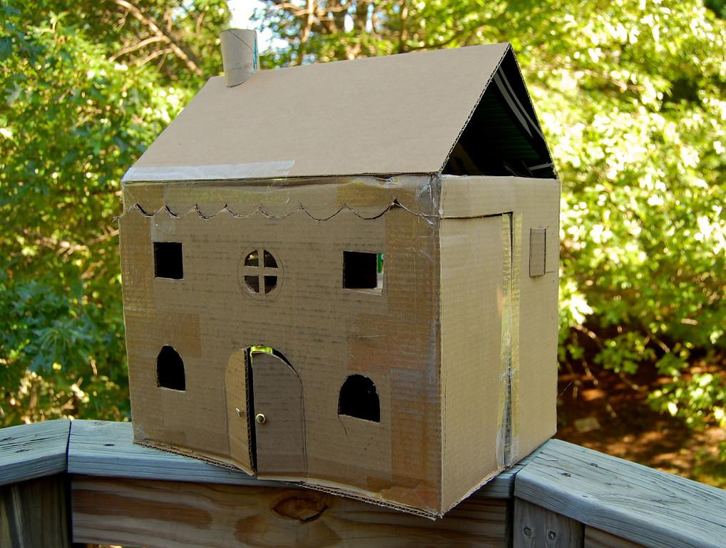 Koradecora camas y casas con carton Casas hechas de carton