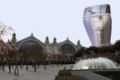 projet de tour sur l'Îlot Vinci : la TramTour
