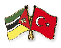 Mozambique, Turkey flags