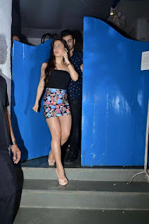 Elli Avram hot pics from ABCD 2 success bash