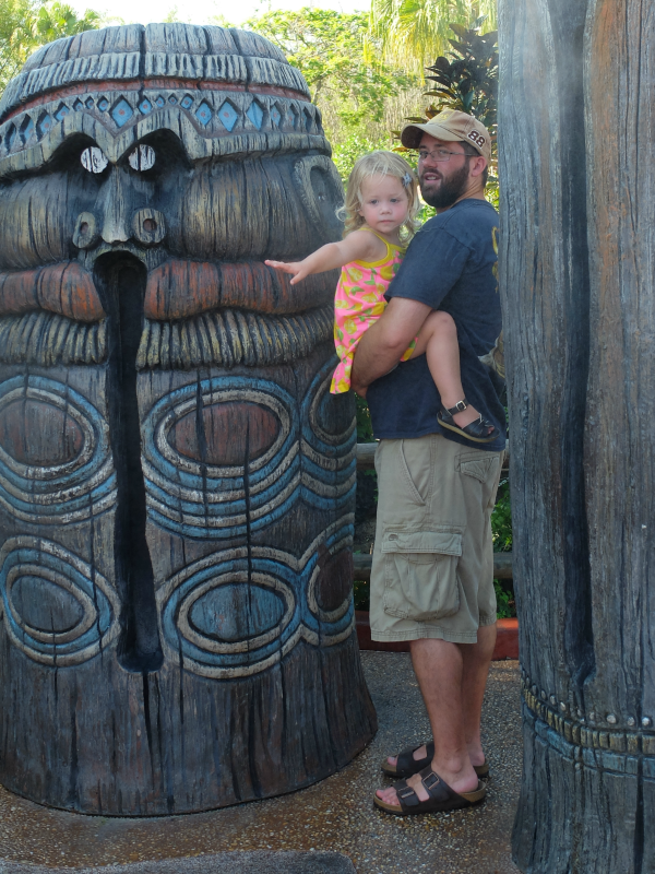 Adventureland, Tiki Misters, Magic Kingdom, Walt Disney World