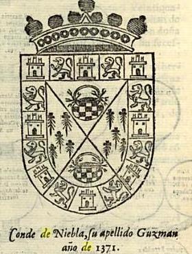 Escudo de la familia de Leonor de Guzman