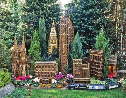 New york botanical garden model train show