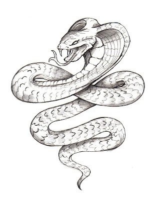 Snake Tattoo Designs Drawings