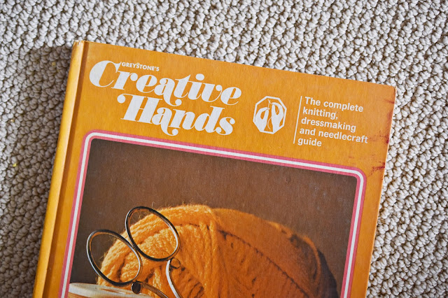 vintage books from Creative Hands knitting, dressmaking