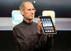 steve jobs ipad apple