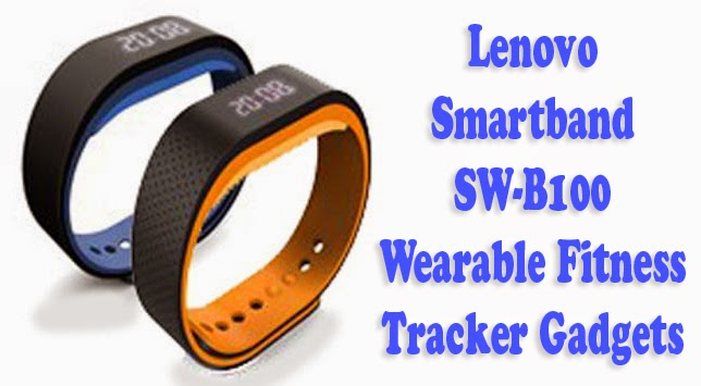 Lenovo Smartband SW-B100 a Wearable Fitness Tracker Gadgets