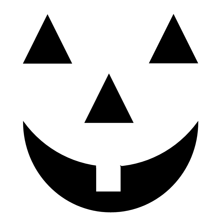 jack o lantern faces clip art - photo #36
