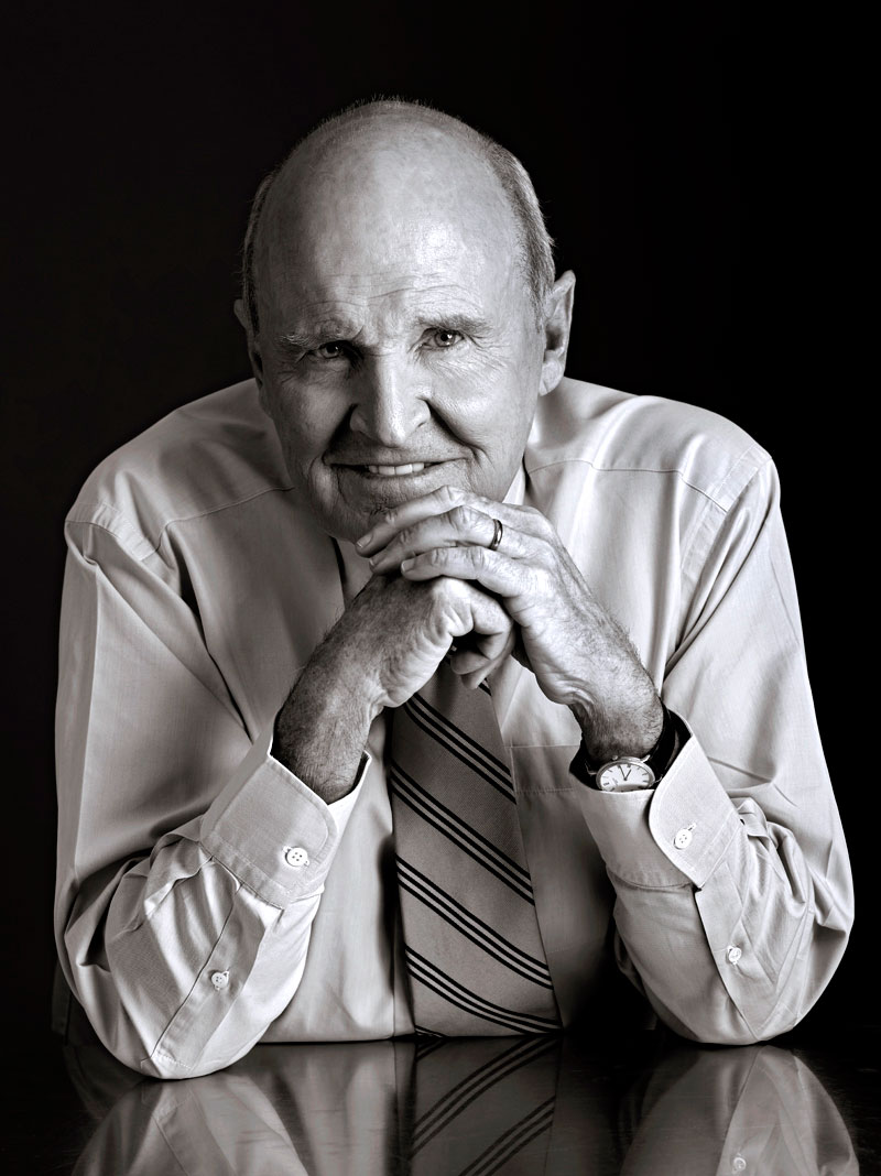 jack welch leadership style From jack welch and steve ballmer to nelson mandela and the dalai lama,  strong leaders prove that there are many right ways to lead.