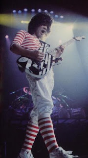 nouvelle EVH striped  Unchained