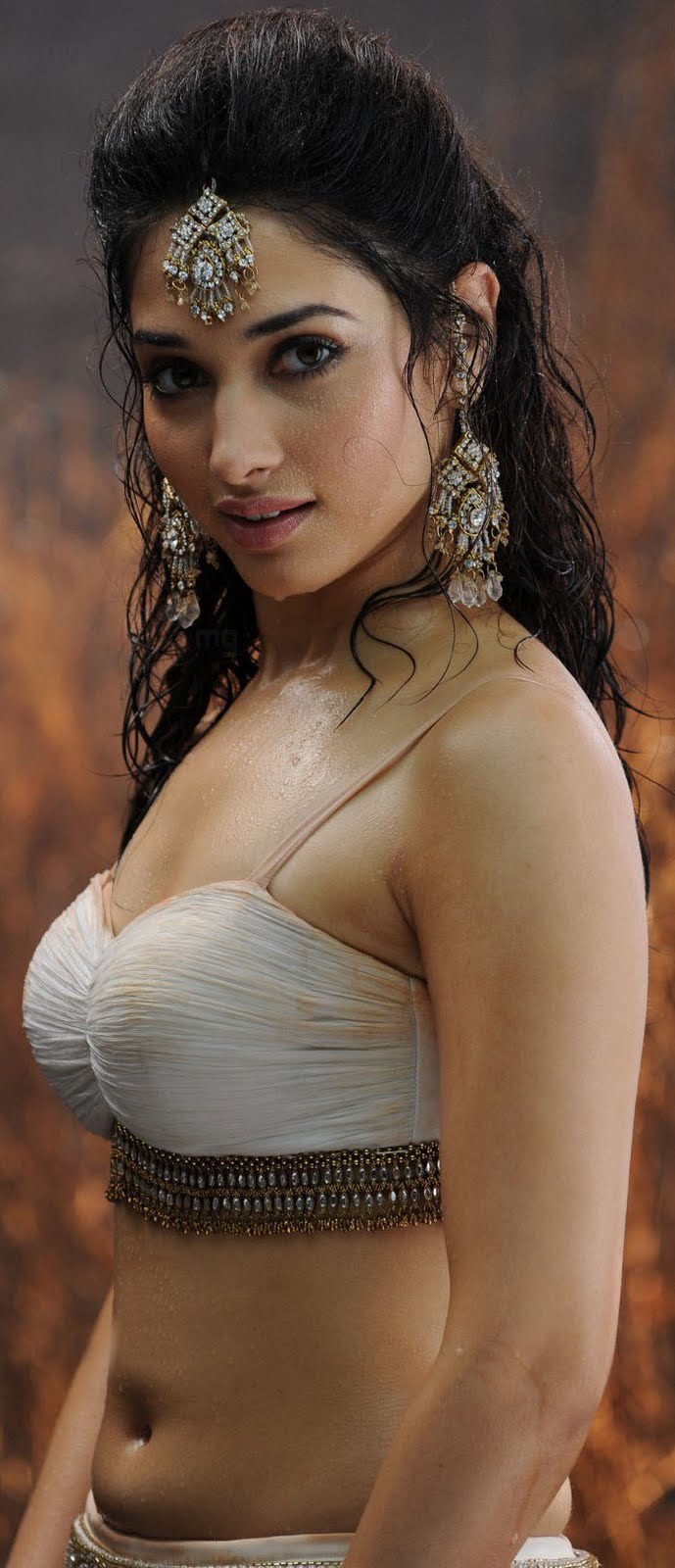 With you tamanna hot navel you were