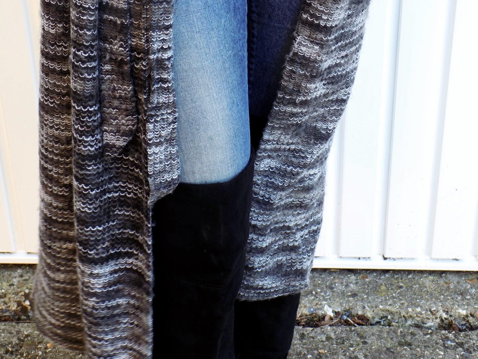 Blue Vanilla cardigan stitching