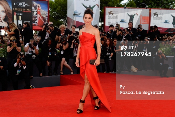 Sandra Bullock Seen Wearing Martin Katz at The Venice Film ...