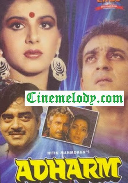 Adharm (1992) Hindi Mp3 Songs Free  Download