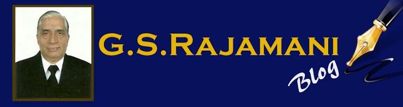 G.S.Rajamani's Blog