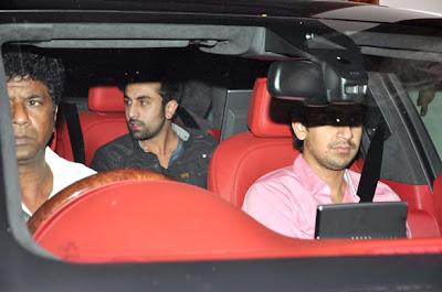 Shahrukh, Hrithik & Ranbir Kapoor grace the Zoya Akhtar's birthday bash